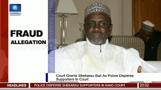 Fraud Allegation: Court Grants Shekarau Bail As police Disperse Supporters In Court