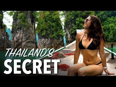 KHAO SOK NATIONAL PARK - Thailand's Best Day Trip, Cheow Lan Lake