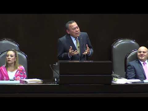 Dip  Jesús Zambrano Ley de Ingresos para el Ejercicio Fiscal de 2018