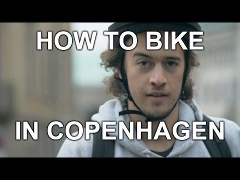 How to Bike in Copenhagen
