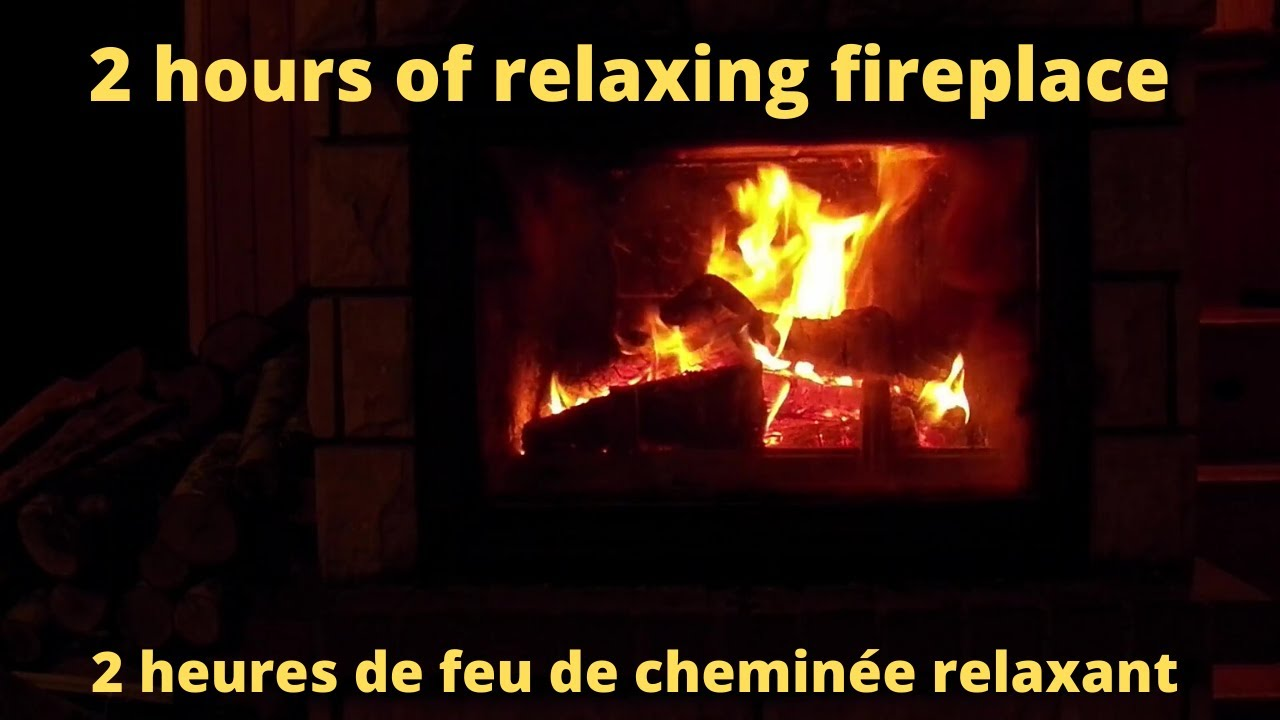Fireplace Romantic Feu De Cheminee Romantique Full Hd Youtube