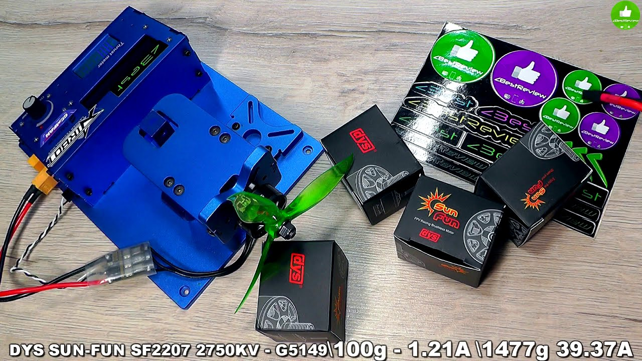 ✔ Бюджетные FPV Моторы DYS SUN-FUN SF2207 2750KV! 11.99$ фото