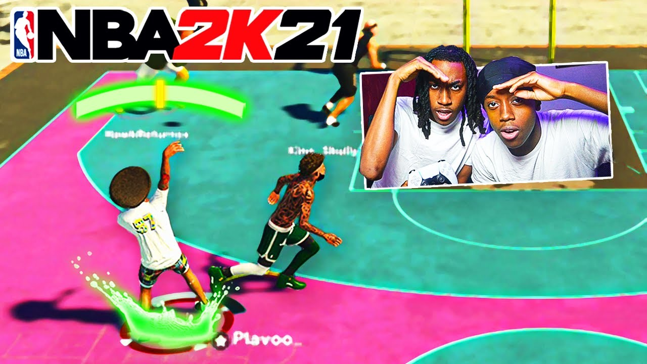 MY LITTLE BROTHER GAVE ME THE NEW BEST JUMPSHOT IN NBA 2K21?!🔥