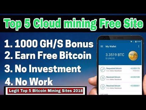 Hindi Urdu Top 5 Cloud Mining Websites To Mine Cryptocurrencies 2018 Bitcoin Sites Technoworld -