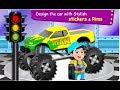 Monster Truck Repair & CleanUp    -  Cartoon Games For Kids  Video - Free Car Games To Play  Now
