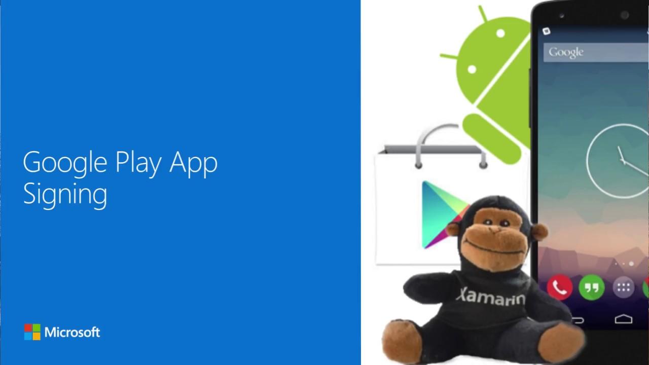 Google Play App Signing - Rene Ruppert - Xamarin University Lightning  Lecture