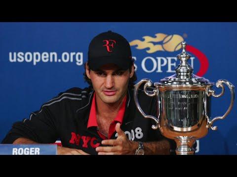 US Open Spotlight: Roger Federer Interview (2008)