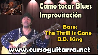 Como tocar Blues - Improvisación  - B.B. King