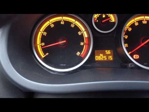 видео: Как узнать температуру двигателя opel corsa d. Диагностика.