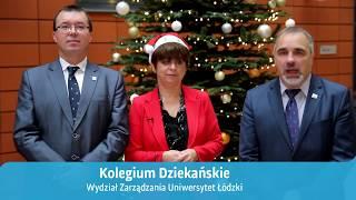 Życzenia od Kolegium Dziekańskiego - Święta Bożego Narodzenia 2017 rok.