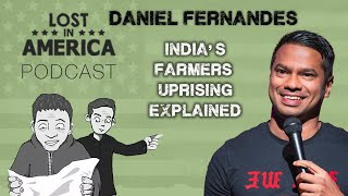 Indian Comedian Daniel Fernandes l India's Farmers Strike Explained