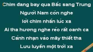 Dan Chim Viet Karaoke - CaoCuongPro
