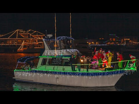 57th Annual Huntington Harbour Boat Parade 2019