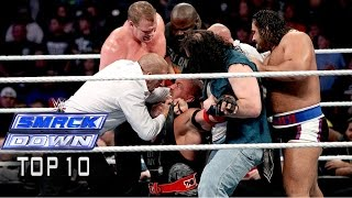 Top 10 WWE SmackDown moments - November 21, 2014