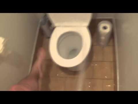 Как не надо ходить в туалет
