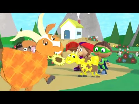 Super Why And The Three Billy Goats Gruff | Super WHY! S01 E22