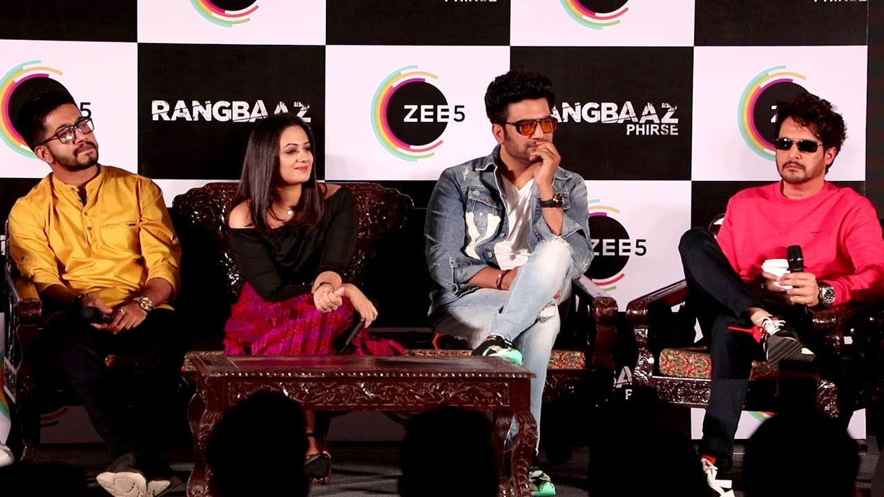 Download Press Conference Of Rangbaaz Phirse | Jimmy Shergill , Sharad Kelkar