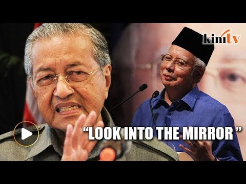 Public transport neglected? Mahathir tells Najib to look into the mirror