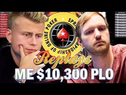 SCOOP 2019 Event #63-H $10k PLO Michael Watson | Jens Kyllönen | JNandez87 Pokerstars Replay
