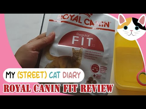 ROYAL CANIN FIT CATFOOD REVIEW