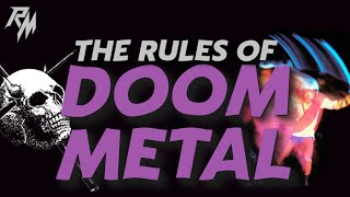THE RULES OF DOOM METAL - 100 Rules To Live By.