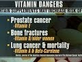 Vitamins could be causing harm, doctor panel says