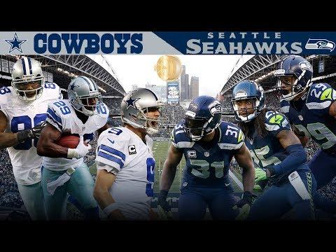 Dallas Big 3 Takes on the Legion of Boom! (Cowboys vs. Seahawks, 2014) | NFL Vault Highlights