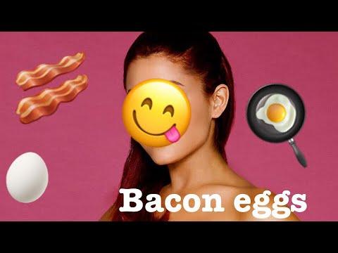 Bacon eggs.