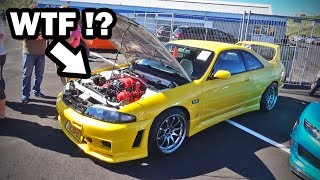 V8 swapped Nissan Skyline ?!