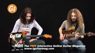 Guthrie Govan - Guitar Pedals Demo - Interview With Michael Casswell iGuitar Mag Feature