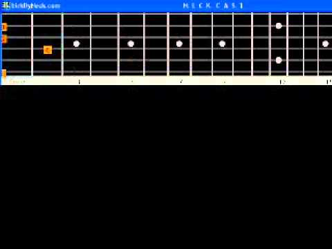 Oh Donna Ritchie Valens B A S I C Guitar Lesson Fingerstyle Solo ...