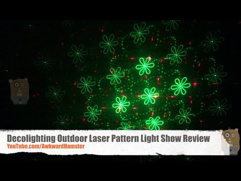 Decolighting outdoor laser pattern light show review youtube aloadofball Images