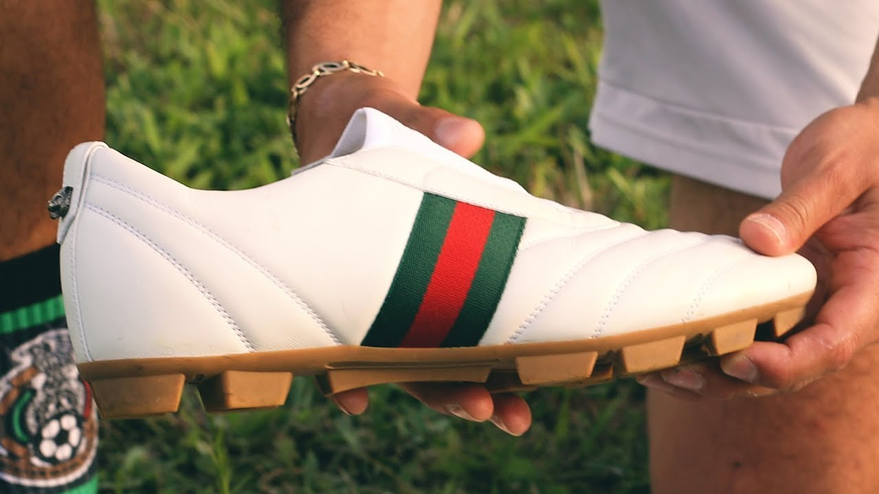 GUCCI SOCCER CLEATS ANY GOOD? - YouTube