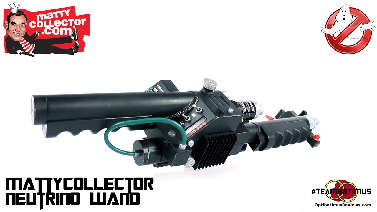 Video Review Of The Mattycollector Ghostbusters Neutrino Wand Youtube