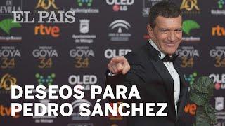 El cine español recibe a Pedro Sánchez con una lista de deseos