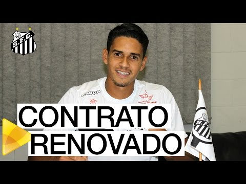 Lucas Veríssimo renova com o Santos FC