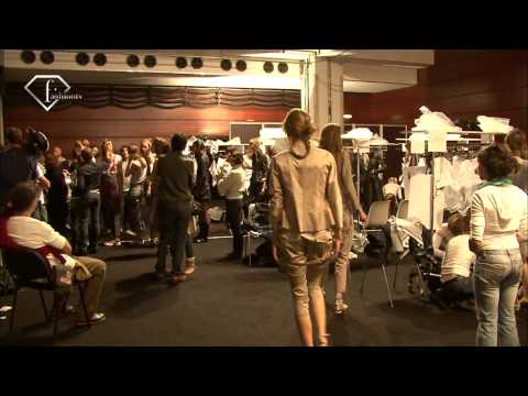 fashiontv | FTV.com - MARITHE & FRANCOIS GIRBAUD PARIS SS 09 BEHIND THE SCENE