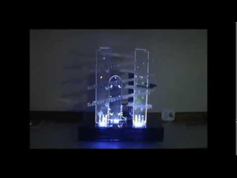 cb85a248cd6 Relogio de bolinhas em acrilico - YouTube