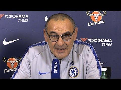 Maurizio Sarri Full Pre-Match Press Conference - Tottenham v Chelsea - Premier League