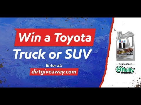Mobil 1 & O'Reilly Auto Parts Giveaway