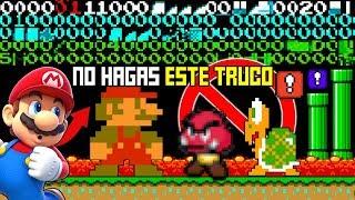 El Truco mas Peligroso de Super Mario Bros que Revela 256 Niveles SECRETOS
