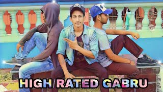 HIGH RATED GABRU || NAWABZAADE || DANCE COVER || CHOREOGRAPHY BY AD ABHIJIT