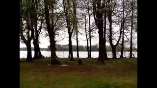 Вюнсдорф. Озеро. Апрель, 2014 год.
