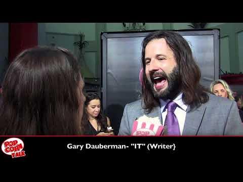 "Gary Dauberman (Writer) - ""IT"" Premiere 2017"