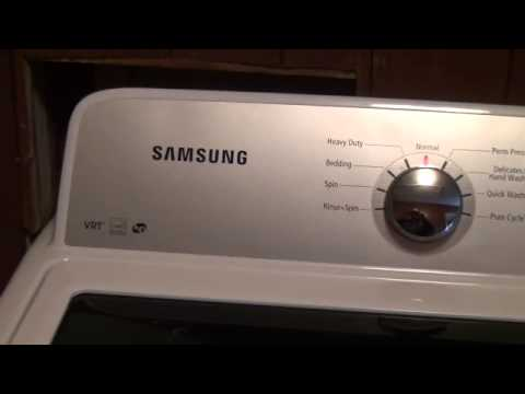 Samsung Washer He Top Load Fail Youtube