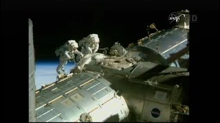International Space Station U.S. EVA 29 (time lapse)