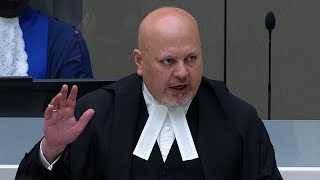 Swearing-in ceremony for new ICC Prosecutor Karim Asad Ahmad Khan QC