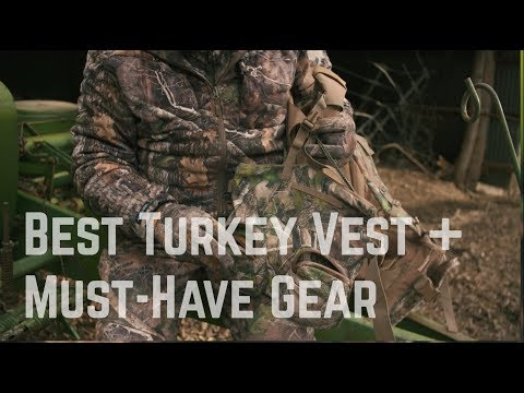 Best Turkey Vest Gear With Rob Keck And TrueTimber | Turkey Hunting Basics