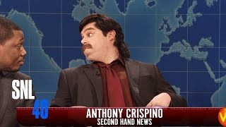 Weekend Update: Anthony Crispino - Saturday Night Live