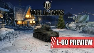 World of Tanks Christmas Gift Tank 2016 (L-60)